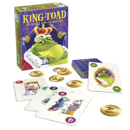 (任選) 諾貝兒益智玩具 歐美桌遊 King Toad