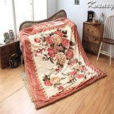 《KOSNEY-戀戀情感》頂級日本新合纖雙層舒眠毛毯180*230cm