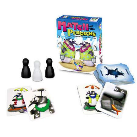 (任選) 諾貝兒益智玩具 歐美桌遊 Match of the Penguins(附中文說明)