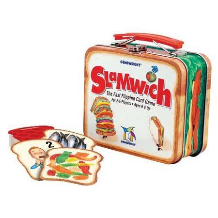 (任選) 諾貝兒益智玩具 歐美桌遊 Slamwich Collector
