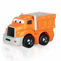 諾貝兒益智玩具 迷你超級工程車(軟殼) 迴力車
