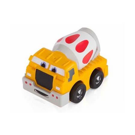 諾貝兒益智玩具 迷你超級攪拌車(軟殼) 迴力車