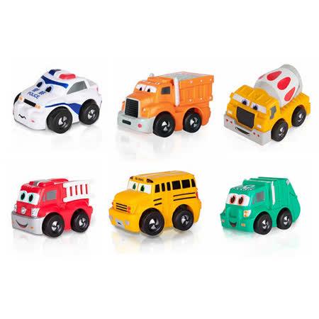 諾貝兒益智玩具 迷你超級迴力車(軟殼) 超值兩件組