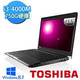 TOSHIBA R30 13.3吋 i3-4000M WIN8.1輕薄筆電-黑(R30-A-007002)【贈原廠包+原廠滑鼠】