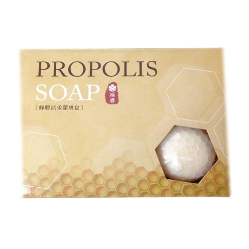延春蜂膠活采潔膚香皂100g~6入