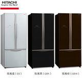 HITACHI日立 483公升變頻三門冰箱(RG470)送安裝+舊機回收