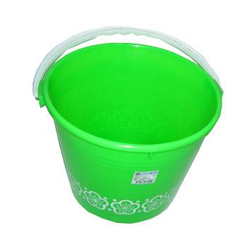 中印花水桶