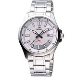 ORIENT 紳士時尚SP鋼帶腕錶-銀 FUNE1004W
