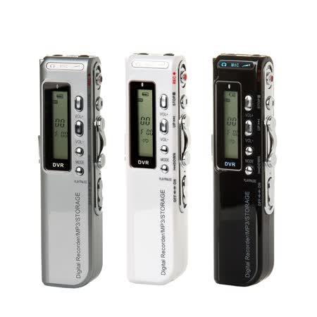 VITAS M81 MP3充電式鋰電池錄音筆8GB(可連續錄音達30小時以上)~附耳塞式電話錄音麥克風