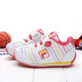 【FILA】義大利經典玩色系運動童鞋J453O-122