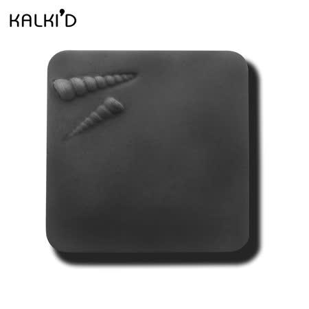 【KALKI'D】親水泥神奇吸水杯墊--黑色長螺