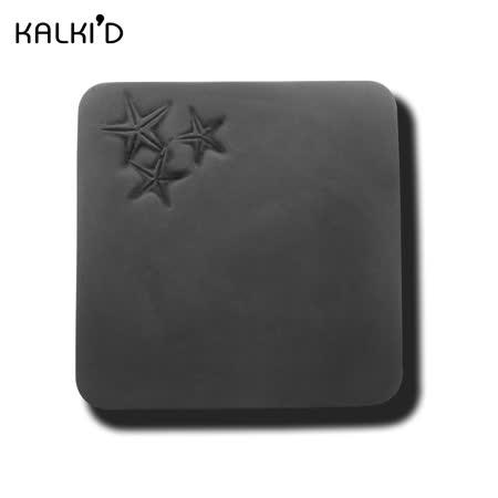 【KALKI'D】親水泥神奇吸水杯墊--黑色海星