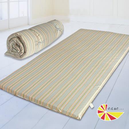 【凱蕾絲帝】布套可拆可捲式澎柔單人3尺床墊(法蘭克)