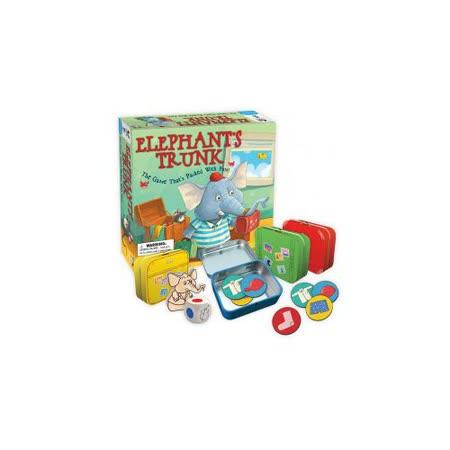 (任選) 諾貝兒益智玩具 歐美桌遊 Elephant's Trunk (附中文說明)