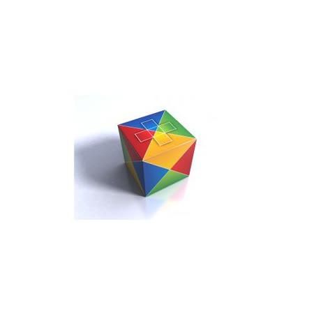 (任選) 諾貝兒益智玩具 歐美桌遊 四色立方體 The Cube2 (附中文說明)