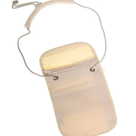 【iSFun】旅行專用*可掛貼身防盜包/米