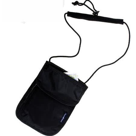 【iSFun】旅行專用*可掛貼身防盜包/黑