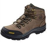 雪松RAN(CEDAR)款800051棕色男女鞋情侶鞋專櫃正品防水防滑厚真牛皮戶外鞋露營鞋徒步鞋休閒鞋
