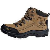 雪松RAN(CEDAR)款060棕色男女鞋情侶鞋專櫃正品防水防滑厚真牛皮戶外鞋露營鞋徒步鞋休閒鞋