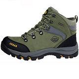 雪松RAN(CEDAR)款633淺綠男女鞋情侶鞋專櫃正品防水防滑厚真牛皮戶外鞋露營鞋徒步鞋休閒鞋