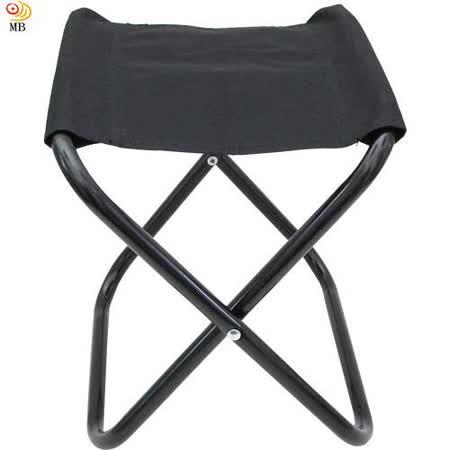 月陽多功能高26cm鐵管烤漆休閒椅1秒折疊椅馬扎(U26)