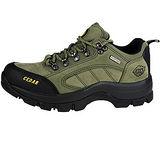 雪松RAN(CEDAR)款605軍綠男女鞋情侶鞋專櫃正品防水防滑厚真牛皮戶外鞋露營鞋徒步鞋休閒鞋