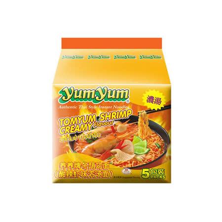 養養 泰式酸辣濃湯麵×5入 350g (即期良品)