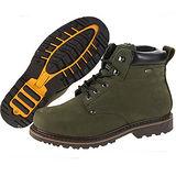 雪松RAN(CEDAR)款117軍綠男女鞋情侶鞋專櫃正品防水防滑厚真牛皮戶外鞋露營鞋徒步鞋休閒鞋