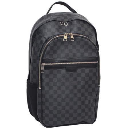 【開箱心得分享】gohappy快樂購物網Louis Vuitton LV N58024 MICHAEL Damier 黑棋盤格紋後背包/電腦包-預購有效嗎高雄 大 遠 百 餐廳