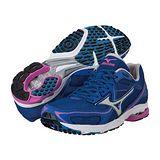Mizuno WAVE SPACER DYNA 女用路跑鞋(藍) J1GB147605