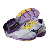 Mizuno Wave Rider 17 WIDE 女用慢跑鞋(紫) J1GD140608