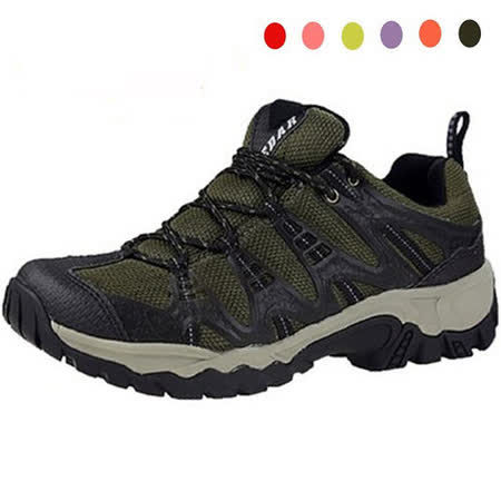 雪松RAN(CEDAR)款90018軍綠男女鞋情侶鞋專櫃正品防水防滑厚真牛皮戶外鞋露營鞋徒步鞋休閒鞋