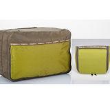 M Square 防水沐浴包+雙層衣物袋超值組(芥未綠)