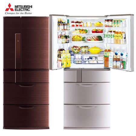 『MITSUBISHI』☆三菱 635公升變頻六門電冰箱 MR-JX64W