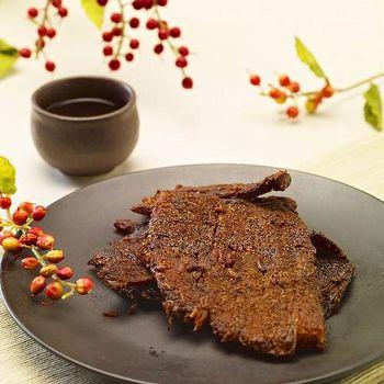 軒記-台灣肉乾王 蔥爆豬肉片 160g(任選館)
