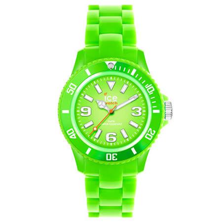 ICE Watch SOLID系列 飽和素色腕錶-綠/38mm