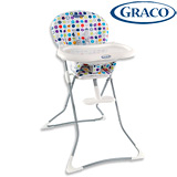 GRACO Tea Time 簡便型式高腳餐椅 (繽紛世界)