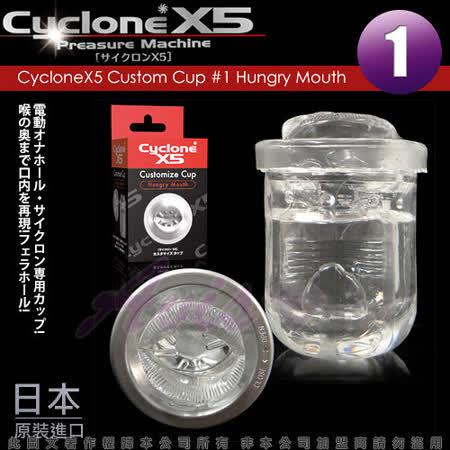CycloneX5-高速迴轉旋風機 內裝杯體 Hungry Mouth(口交)