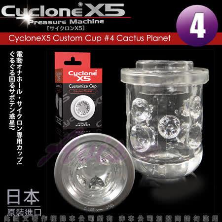 CycloneX5-高速迴轉旋風機 內裝杯體 Cactus Planet(仙人掌)