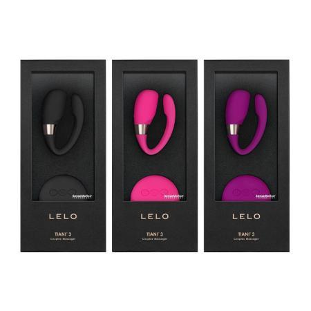 瑞典LELO-Tiani蒂阿妮 3代 遙控情侶共震按摩器-3色
