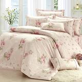 MONTAGUT-花映柔情-精梳棉-雙人四件式兩用被床包組