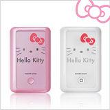 Hello Kitty 電力銀行 7800mAh 高電容量 小可愛行動電源 (KT-PB7800-2) 瘋狂任選GO