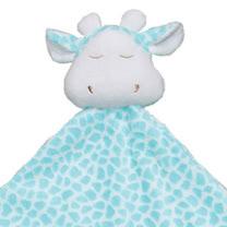 Angel Dear 大頭動物嬰兒毛毯 (青綠色長頸鹿)