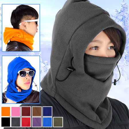 全罩式魔術防風防寒保暖頭套面罩E010-01