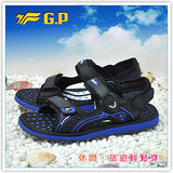 [GP]親子系列男鞋-舒適磁釦涼拖兩用鞋 G9149M-23(寶藍色)共有三色
