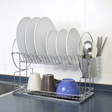 【富麗美】不鏽鋼碗盤瀝水架(TBJ-CF204)