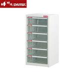 【SHUTER】A4-106H 六層單排雪白資料櫃(6高抽)