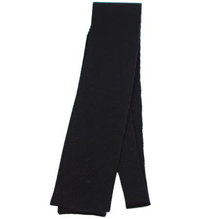 HERMES 時尚配件 素雅領帶.黑