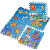 【LOG樂格】環保遊戲2cm巧拼地墊 -海底世界 (60x60cmx4片)