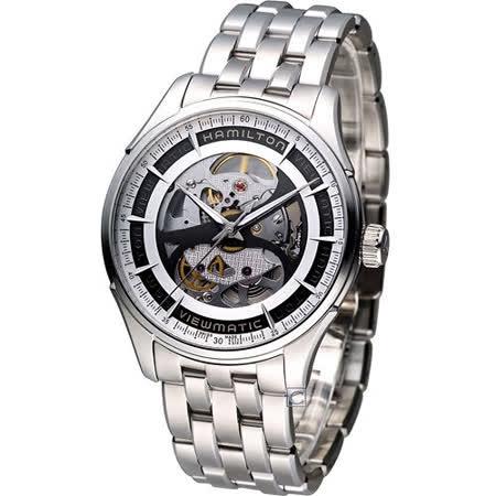 漢米爾頓 Hamilton Jazzmaster Viewmatic創新鏤空機械錶 H42555151